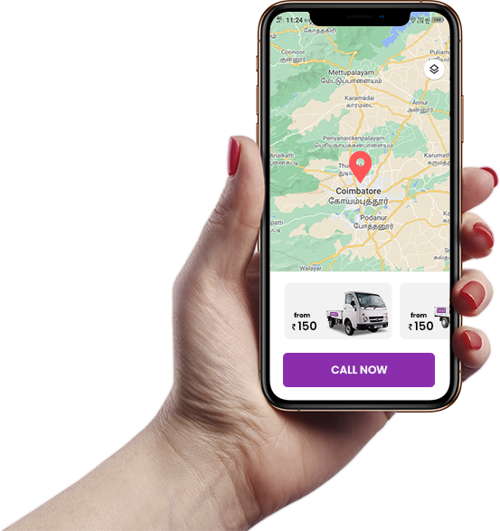 Truck taxi mobile app